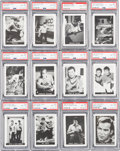 Non-Sport Cards:Sets, 1967 Leaf Star Trek PSA Graded Partial Set (35/72) Plus Extra. ...