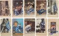 "Autographs:Sports Cards, Signed 1995 Upper Deck Mickey Mantle ""Baseball Heroes"" Complete Set (10). ..."