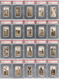 "Golf Cards:General, 1927 Churchman-Small ""Famous Golfers"" Complete Set (50) - #4 ""All-Time Finest"" on the PSA Set Registry. ..."