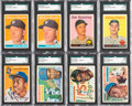 Baseball Cards:Lots, 1954-1958 Topps Baseball Collection (950+) With Many Stars andAaron Rookie. ...