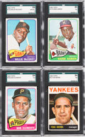 Baseball Cards:Lots, 1964-1966 Topps Baseball Collection (570+) With Stars. ...