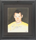 Miscellaneous Collectibles:General, 2005 Lance Armstrong Signed Original Artwork by James FiorentinoDisplay. ...
