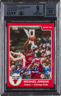 Basketball Cards:Singles (1980-Now), Signed 1984-85 Star Co. Michael Jordan #101 Signed Rookie BGS Mint 9, Autograph 10. ...