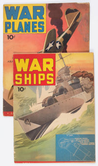 War Ships #nn/War Planes #nn Group (Dell, 1942).... (Total: 2 Comic Books)