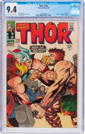 Silver Age (1956-1969):Superhero, Thor #126 (Marvel, 1966) CGC NM 9.4 Cream to off-white pages....