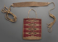 American Indian Art:Beadwork and Quillwork, Two Plateau Items ... (Total: 2 Items)