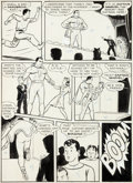 Original Comic Art:Panel Pages, C. C. Beck Captain Marvel Adventures #5 Story Page 3Original Art (Fawcett, 1941)....