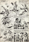 Original Comic Art:Panel Pages, Jack Kirby and John Prentice Bullseye #1 Page 24 OriginalArt (Mainline, 1954)....