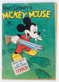 Golden Age (1938-1955):Cartoon Character, Four Color #27 Mickey Mouse (Dell, 1943) Condition: GD/VG....
