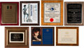 Music Memorabilia:Awards, A Connie Francis Group of Awards, 1960s-2000s.... (Total: 7 Items)