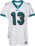 Football Collectibles:Uniforms, 1998 Dan Marino Game Worn Miami Dolphins Jersey - Photo Matched to 10/25 Game vs. Patriots! ...