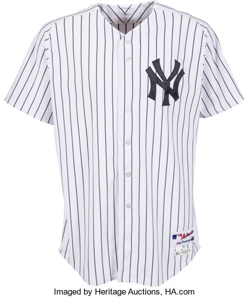 best sneakers 3af4e 5515b 2013 Alex Rodriguez Game Worn New York Yankees Jersey with ...