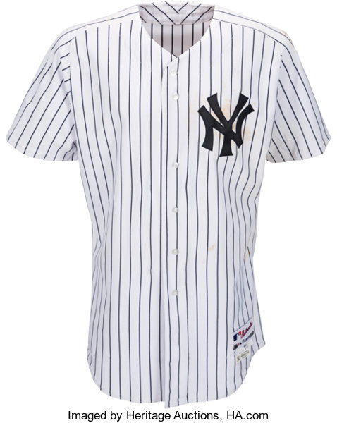 best loved 72d7a 16219 2011 Alex Rodriguez Game Worn Unwashed New York Yankees ...