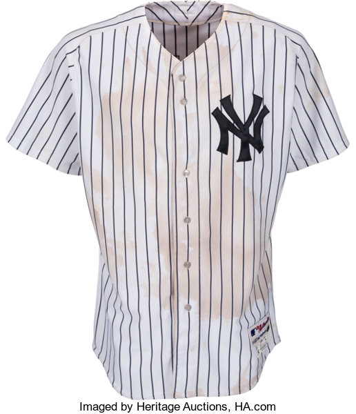 new product 4c020 fd962 2012 Mark Teixeira Game Worn New York Yankees Jersey from ...
