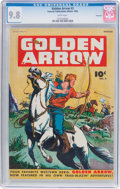 Golden Age (1938-1955):Western, Golden Arrow #3 Vancouver Pedigree (Fawcett Publications, 1945) CGCNM/MT 9.8 White pages....