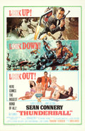 "Movie Posters:James Bond, Thunderball (United Artists, 1965). One Sheet (27"" X 41"") CutJetpack Style, Frank McCarthy with Robert McGinnis Artwork.. ..."