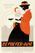 "Movie Posters:Comedy, Battling Jane (Paramount, 1918). Swedish Linocut One Sheet (23.5"" X35"") Eric Rohman Artwork.. ..."