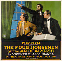 "The Four Horsemen of the Apocalypse (Metro, 1921). Six Sheet (77.5"" X 79"")"