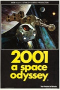 "Movie Posters:Science Fiction, 2001: A Space Odyssey (MGM, 1968). British Double Crown (20"" X 30"").. ..."