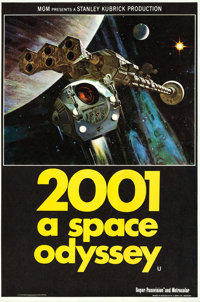 """2001: A Space Odyssey (MGM, 1968). British Double Crown (20"""" X 30"""")"""