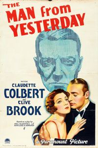 """The Man from Yesterday (Paramount, 1932). One Sheet (27"""" X 41"""")"""