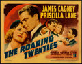 "Movie Posters:Crime, The Roaring Twenties (Warner Brothers, 1939). Linen Finish TitleLobby Card (11"" X 14"").. ..."