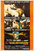"Movie Posters:James Bond, Goldfinger (United Artists, 1964). Poster (40"" X 60"") Style Y.. ..."