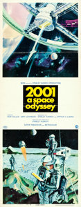 "Movie Posters:Science Fiction, 2001: A Space Odyssey (MGM, 1968). Insert (14"" X 36"") Robert McCallArtwork.. ..."