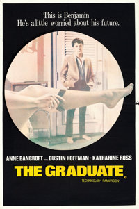 """The Graduate (United Artists, 1968). British Double Crown (20"""" X 30"""")"""