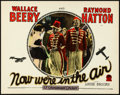 "Movie Posters:Comedy, Now We're in the Air (Paramount, 1927). Lobby Card (11"" X 14"")....."