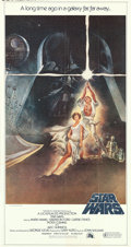 "Movie Posters:Science Fiction, Star Wars (20th Century Fox, 1977). Three Sheet (41"" X 81"") TomJung Artwork.. ..."