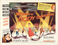 "Invasion of the Body Snatchers (Allied Artists, 1956). Half Sheet (22"" X 28"") Style B"