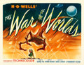 "Movie Posters:Science Fiction, The War of the Worlds (Paramount, 1953). Half Sheet (22"" X 28"")Style A.. ..."