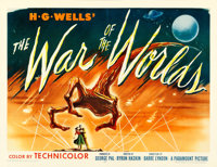 """The War of the Worlds (Paramount, 1953). Half Sheet (22"""" X 28"""") Style A"""