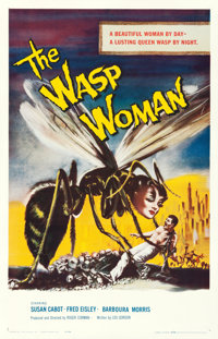 """The Wasp Woman (Filmgroup, 1959). One Sheet (27"""" X 41"""")"""