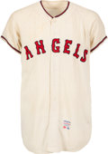 Baseball Collectibles:Uniforms, 1964 Lenny Green Game Worn Los Angeles Angels Jersey....