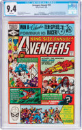Modern Age (1980-Present):Superhero, The Avengers Annual #10 (Marvel, 1981) CGC NM 9.4 White pages....