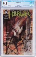 Modern Age (1980-Present):Horror, Hellblazer #1 (DC, 1988) CGC NM+ 9.6 White pages....
