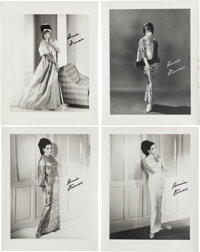 A Connie Francis Group of Signed Black and White Photographs, Circa 1966