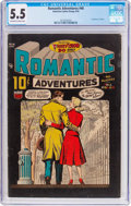 Golden Age (1938-1955):Romance, Romantic Adventures #46 (ACG, 1954) CGC FN- 5.5 Off-white to whitepages....