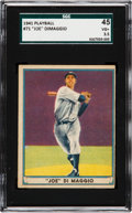 Baseball Cards:Singles (1940-1949), 1941 Play Ball Joe DiMaggio #71 SGC 45 VG+ 3.5....