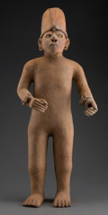 Pre-Columbian:Ceramics, A Large Veracruz Figure...