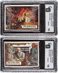 "Non-Sport Cards:Unopened Packs/Display Boxes, 1962 Topps ""Civil War News"" Cello Pack GAI Perfect 10 Pair (2). ..."