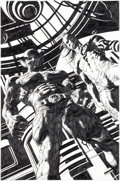 Original Comic Art:Splash Pages, Mike Deodato Wolverine: Origins #30 Splash Page 21 OriginalArt (Marvel, 2009)....