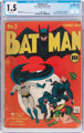 Batman #2 (DC, 1940) CGC FR/GD 1.5 Brittle pages