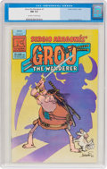 Modern Age (1980-Present):Humor, Groo the Wanderer #1 (Pacific Comics, 1982) CGC NM 9.4 Off-white towhite pages....