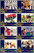 "Movie Posters:Animation, Yellow Submarine (United Artists, 1968). Lobby Card Set of 8 (11"" X14"") Heinz Edelmann Artwork.. ... (Total: 8 Items)"