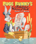 Original Comic Art:Covers, Norm McGary Bugs Bunny's Magic Coloring Book #1411 CoverPainting Original Art (Whitman Publishing, 1955)....