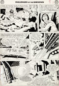 Original Comic Art:Panel Pages, Jack Kirby and Wally Wood Challengers of the Unknown #7Story Page 2 Original Art (DC, 1959)....