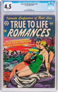 Golden Age (1938-1955):Romance, True-To-Life Romances #12 (Star Publications, 1952) CGC VG+ 4.5White pages....